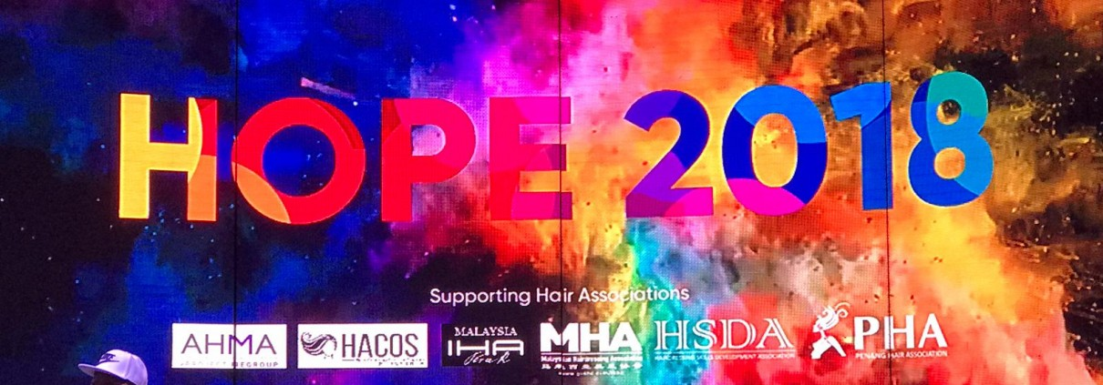 HOPE 2018 Supporting Hair Associations