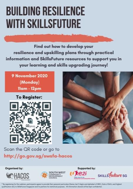 Building Resilience with SkillsFuture Webinar